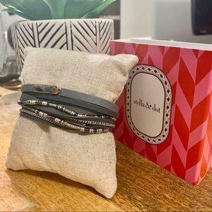 Stella & Dot Yves Wrap Bracelet